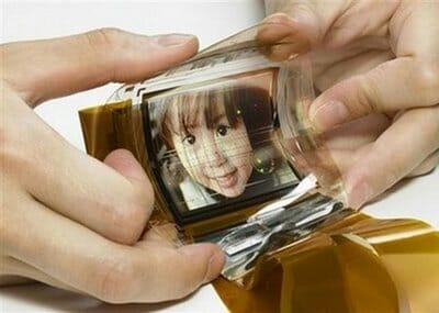Cientistas Coreanos inventam display dobrável.