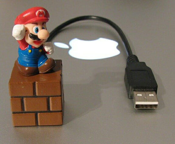 Pen Drive 4GB Super Mario Bros é muito legal!