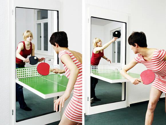 Chega de tédio! Instale uma Porta Mesa de Ping-Pong na Sua Empresa!