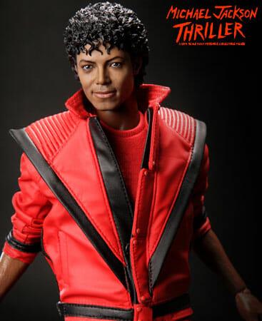 Boneco do Michael Jackson Thriller parece de verdade!