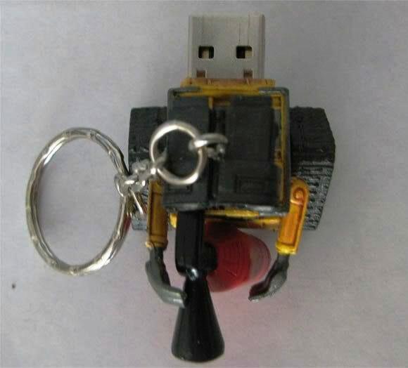 O que você acha deste pen drive do Wall-E da Disney?
