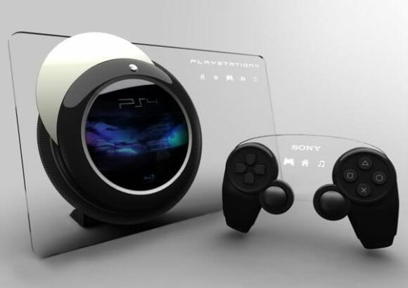 Com vocês, o Sony Playstation 4 conceito!