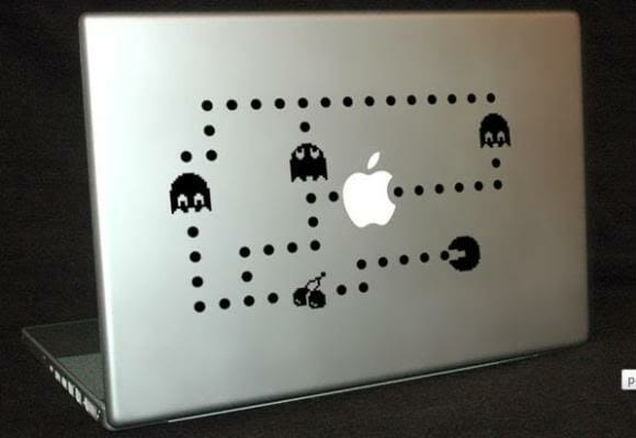 Decore seu MacBook com Adesivos do Pac-Man!