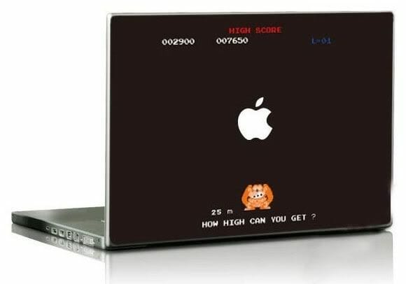 Adesivos para MacBook do Donkey Kong