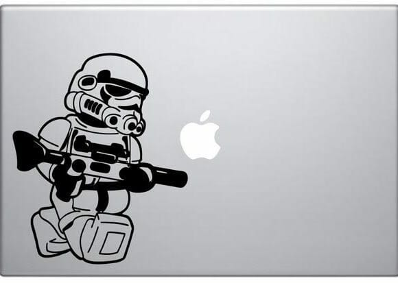 Adesivos para MacBook do Star Wars