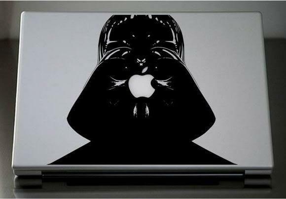 Adesivos para MacBook do Darth Vader
