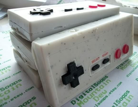 Sabonete Controle do Nintendinho 8 bits
