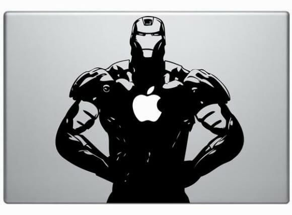 Adesivos para MacBook do Iron Man