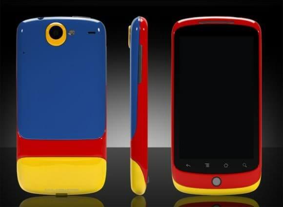 Show de cores para turbinar seu Google Nexus One!
