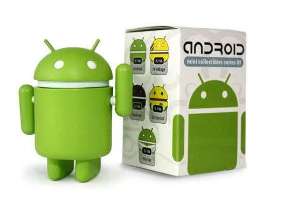 Com vocês: Os Bonecos Android Colecionáveis!
