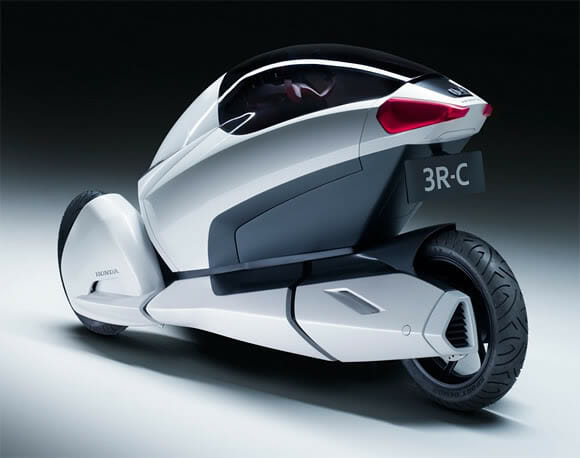 Nova Honda 3R. Uma moto futurista de parar o trânsito!