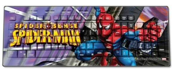 Teclados e mouses do Star Trek e heróis da Marvel arrasam no visual.