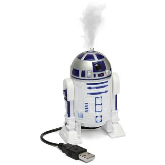 Umidificador de ar do R2-D2.