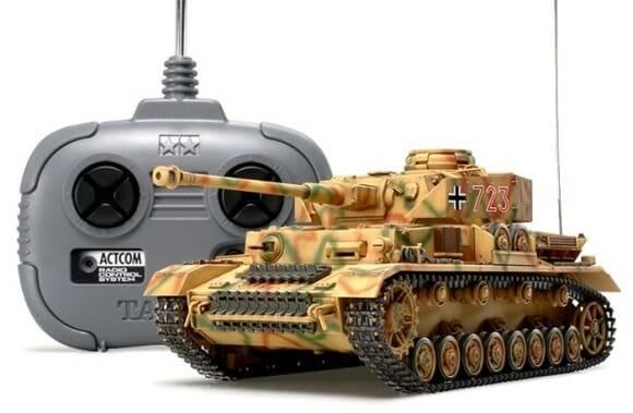 Réplica de Tanque de Guerra alemão de controle remoto.
