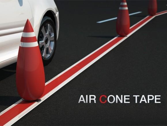 Air Cone - Uma forma inteligente de sinalizar Rodovias.
