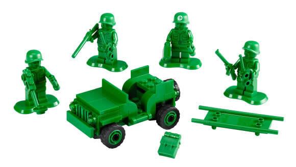 Coleção de Soldadinhos de Plástico da LEGO para voltar no tempo!