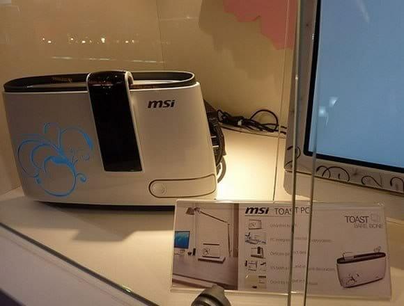 MSI lança PC em forma de Torradeira