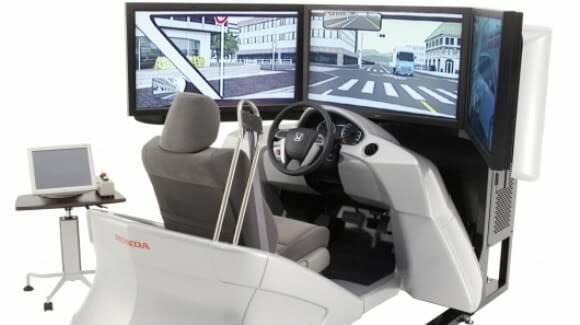 Novo Simulador de Direção da Honda - Para aprender a dirigir sem correr riscos!
