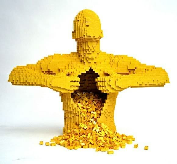 FOTOFUN - LEGO Yellow Man