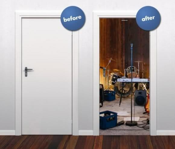 Dê asas à imaginação (e à sua porta) com os Style Your Door!
