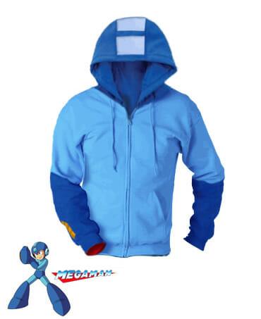 Uma jaqueta que transforma qualquer um em Megaman.