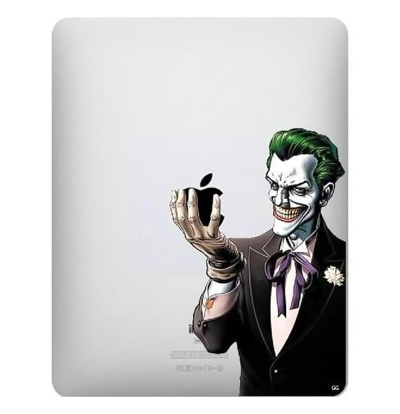 Adesivo para iPad do Coringa