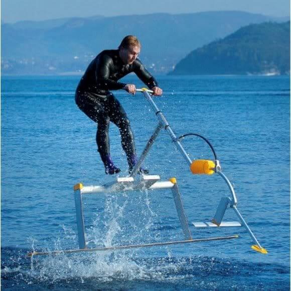 Aqua Skipper - O Veículo Aquático mais rápido e esquisito já inventado pelo homem! (vídeo)