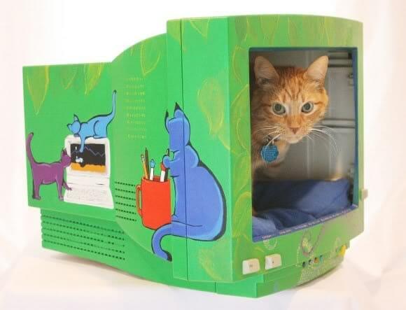 cama criativa para gatos 1