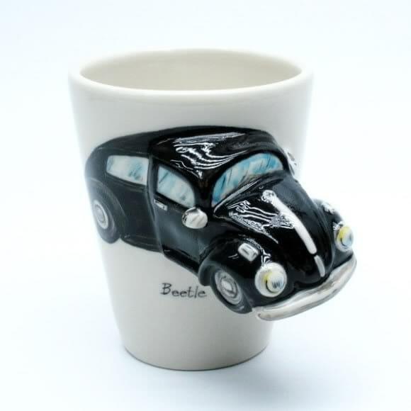 Beatle Car - A caneca para fãs de Fusca