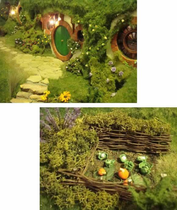 Sensacional do Dia: Veja Esta Maquete de Casa Hobbit do filme Senhor dos Anéis!