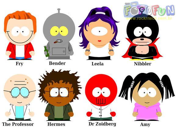 FOTOFUN - Futurama South Park