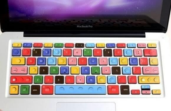 Adesivos Blocos de LEGO para teclado do MacBook
