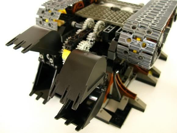 SaltHook - Um Incrível navio de LEGO sobre rodas!
