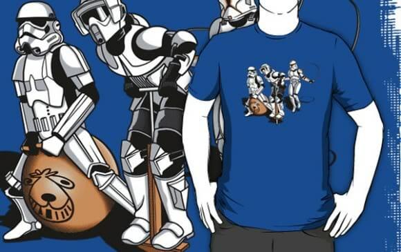 Os Stormtroopers não tiveram infância!