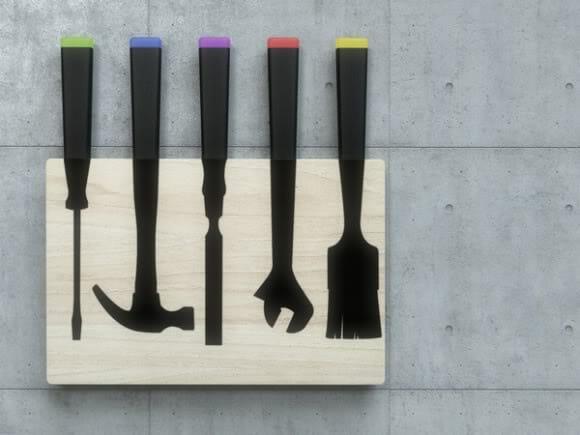 Cutlery Toolkit - Talheres com cara de Ferramentas!