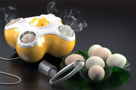 Uma torradeira para ovos!