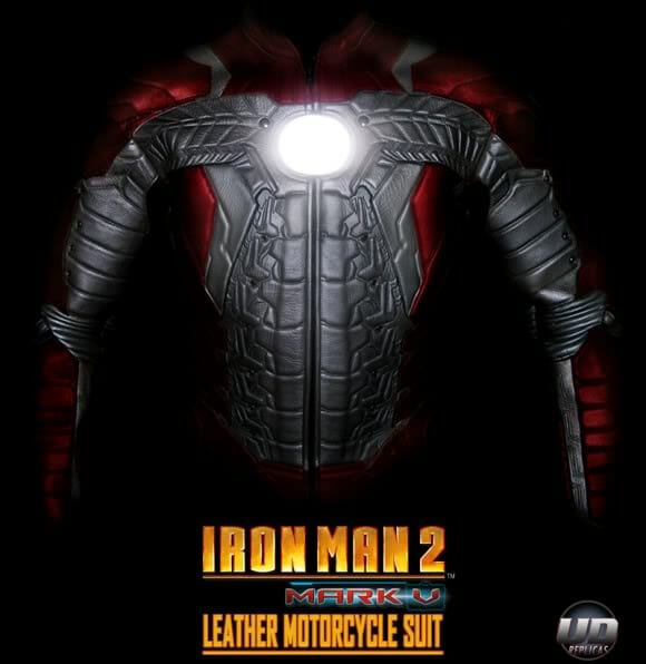 Traje oficial do Iron Man 2 para Motociclistas