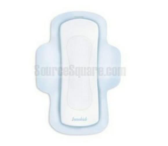 Mouse Pad em forma de absorvente.
