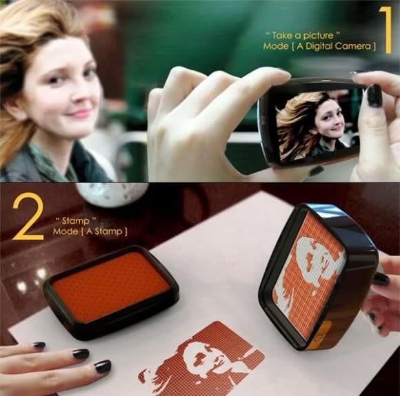 Stamp.y - Uma Câmera que transforma fotos em carimbos instantâneos