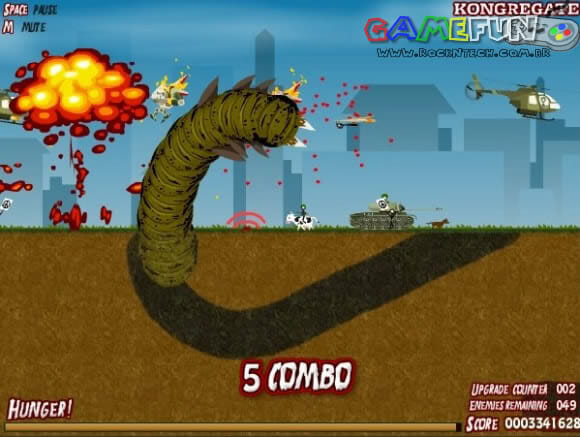 GAMEFUN - Effing Worms.