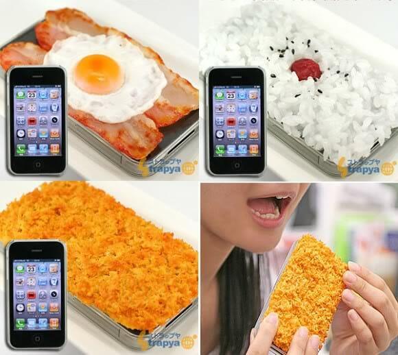 Cases para iPhone pra quem é bom de garfo!