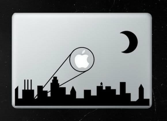 Adesivo Bat-sinal para MacBook