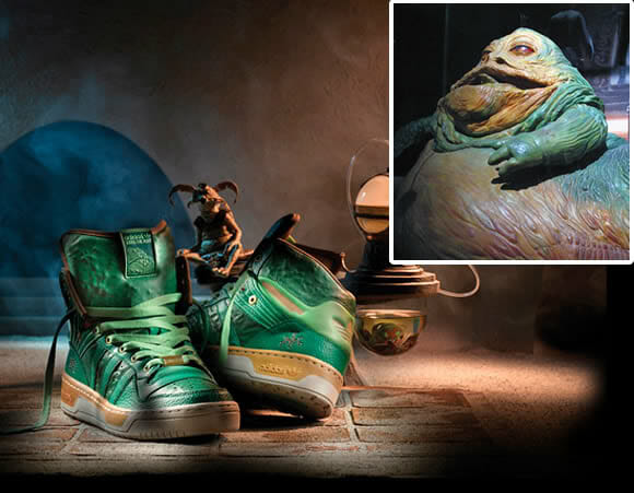 Novo Adidas inspirado no personagem Jabba the Hutt de Star Wars