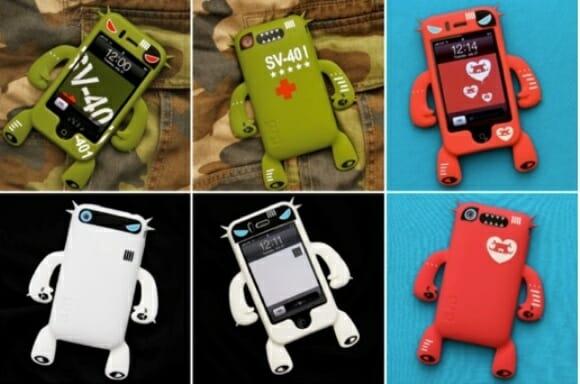 Cases Robotector para iPhone 3GS em novas cores e desenhos.