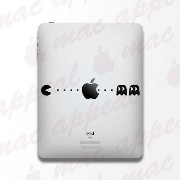 Adesivo do Pac-Man para iPad