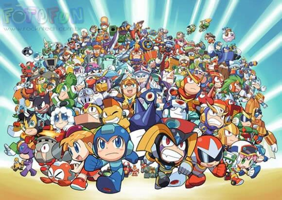 FOTOFUN - Mega Poster do Megaman.