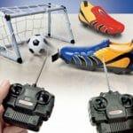 Chuteiras movidas a controle remoto podem ser a solução para pernas-de-pau.