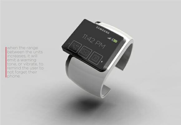 Samsung Proxima - Um smartphone de pulso futurista.