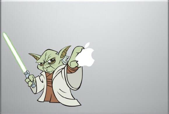 Quatro adesivos geeks super legais para MacBook!