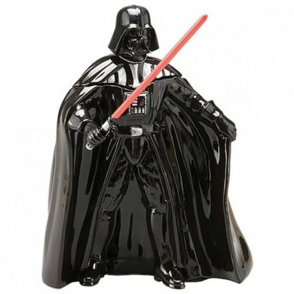 Pote de biscoito do Darth Vader para fãs de Star Wars
